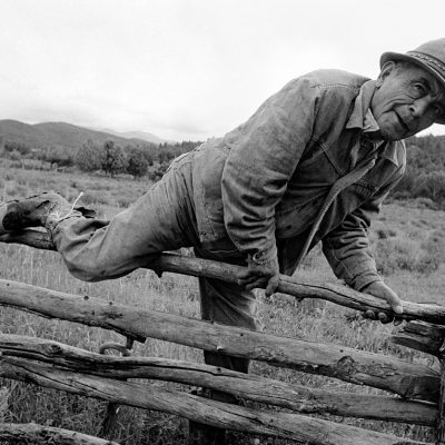 Alex Harris- Heading to the River, El Valle, New Mexico, 1979. River of Traps